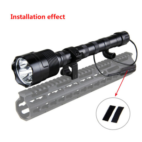 9000LM Military Tactical XML T6 LED Flashlight 1 Mode Camping Lamp Torch 18650
