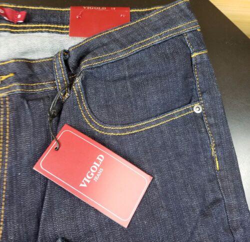 "Vigold Premium Vigoss Dark Bootcut Jean Tall 17 or 19 Jr Plus size 37/""  Inseam"