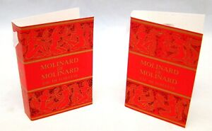 MOLINARD-de-Molinard-Eau-de-Toilette-5-Sample-Vials-x-03-oz-each-NEW-w-Card-VTG