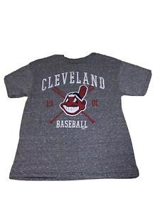 Chief-Wahoo-Cleveland-Indians-Women-Shirt-Sz-Medium-1901-By-Stitches-Vintage