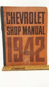 1942-CHEVROLET-Original-Shop-Manual-Very-Good-Condition-US