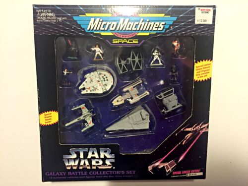 Star WarsMicro Machines Galaxy Battle Collector's Set 1994, Galoob New