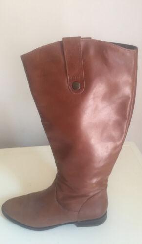 High Boots Size Tan Aldo Leather Knee 5 5 Women H4nPtqwBxX