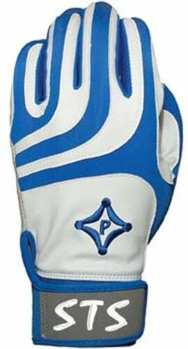 Palmgard STS Protective Batting Gloves PAIR Baseball Softball Adult Blue White