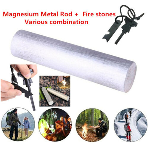 Magnesium Metal Rod Emergency Tool Fire Stick Fire Stones Various Combination