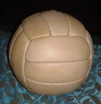 World Cup 1958 Antique Style Genuine Leather Soccer ball, 18 Panels, Size 2