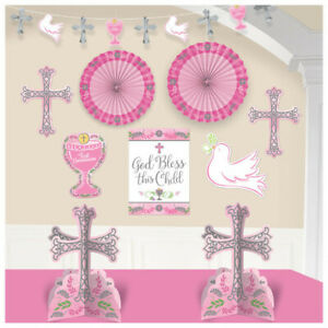 FIRST-COMMUNION-ROOM-Party-Decorations-Table-Wall-Banner-Religious-Ceremony-Girl