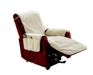 Excellent Details About Fleece Recliner Chair Cover Furniture Protector With 6 Storage Pockets Spiritservingveterans Wood Chair Design Ideas Spiritservingveteransorg