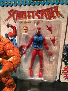HASBRO-Marvel-Legends-Vintage-Scarlet-Spider-Man-6-Inch-Action-Fig