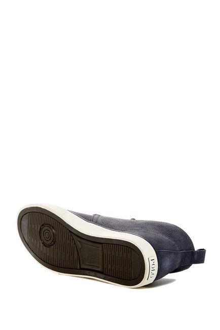 Brand New Mid Polo Ralph Lauren Calder Mid New Grained Nubuck Scarpe da Ginnastica 9c5891