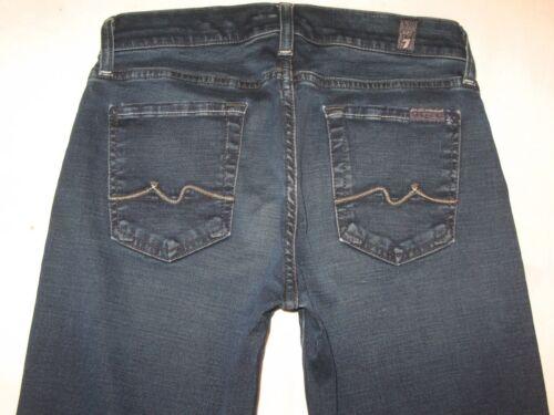 Svasati Tutti W Donna Scuro Blu Denim Elasticizzato Gummy Per 7 Jeans 26 Taglie wxB1I1