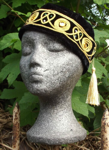 Smoking hat cap BLACK hat tassel S M L XL 2XL 3XL 4XL sizes NEW Braver Grace