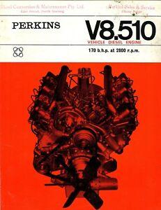 research.unir.net brochure Perkins V8.510 vehicle diesel engine ...