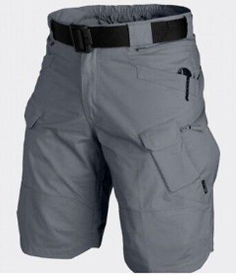 Mettere In Guardia Helikon Tex Utp Urban Tactical Cargo Shorts Pantaloni Outdoor Brevemente Shadow Grey Medium-mostra Il Titolo Originale