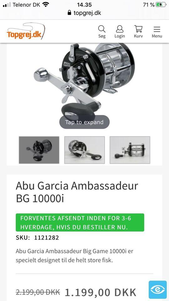 Havhjul, ABU 10000 i. BIG GAME