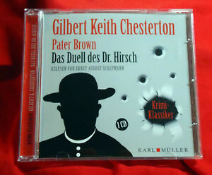Pater-Brown-Das-Duell-des-Dr-Hirsch-Gilbert-Keith-Chesterton-Hoerbuch-CD