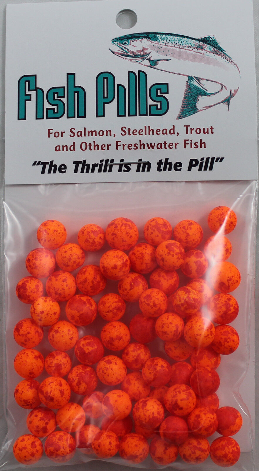 MAD RIVER MANUFACTURING FISH PILLS CLOWN RED #2 FP11-2