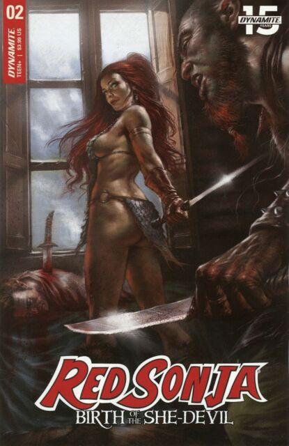 2019 RED SONJA: BIRTH OF THE SHE-DEVIL #2 ( PARRILLO COVER A ) DYNAMITE  NM