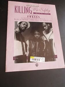 100% De Qualité Killing Me Softly Original Sheet Music Edition Recorded By Fugees 1972 Et D'Avoir Une Longue Vie.