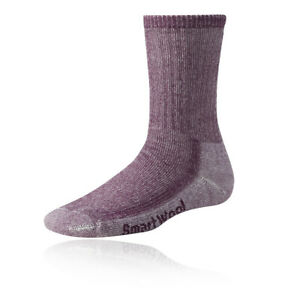 SmartWool Womens Smartwool Hike Light Crew Socks Blue Sports Outdoors Breathable