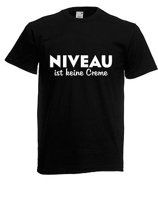 Ernst Herren T-shirt Niveau Ist Keine Creme Bis 5xl Durchblutung GläTten Und Schmerzen Stoppen