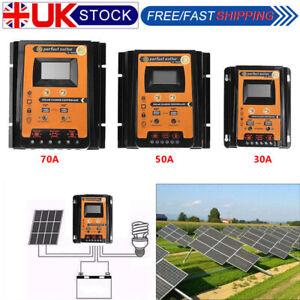 12-24V-30-50-70A-MPPT-Solar-Charge-Controller-Panel-Battery-Regulator-Dual-USB