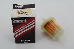 ptc fuel filter pg12 fits 1980 honda accord ebay rh ebay com Honda Accord Fuel Pump Location 2005 Honda Accord Fuel Filter Location