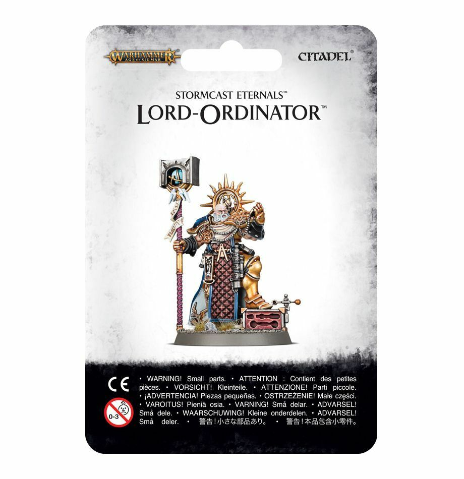 Stormcast Eternals Lord Ordinator Games Workshop Warhammer Age of Sigmar Order
