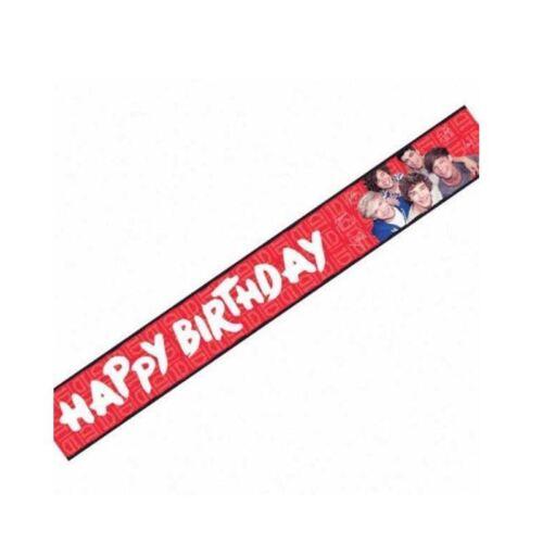 3.6 M One Direction Holographi Bannière Fête Décoration Unisexe Party Supply