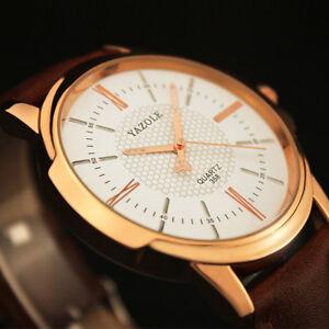 Men-Luxury-Stainless-Steel-Business-Quartz-Watch-Leather-Wrist-Watches-Y358