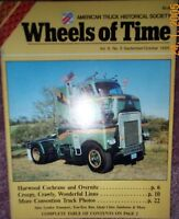 50 years of Overnight Transport - LINN Truck - 1985 WHEELS of TIME Magazine ATHS