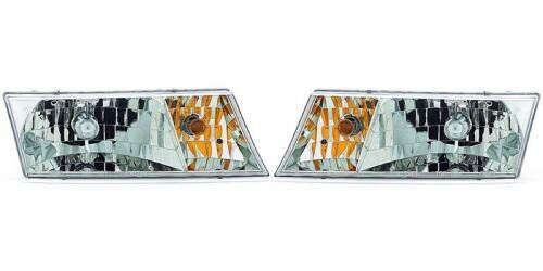 SIDE//PAIR for 1998-2002 Mercury Grand Marquis Front Headlight Assembly