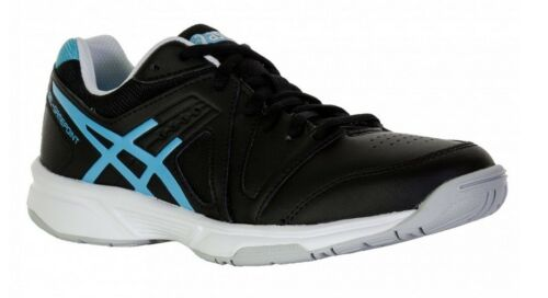 cordones Gamepoint Zapatillas negras de azules Asics con mujer Gel deporte para E459l 9040 FqvfwFB