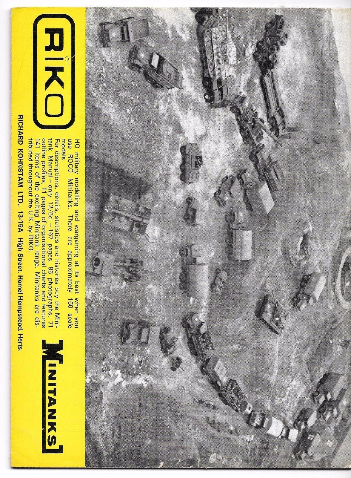 Military Modelling Modelling Modelling Ejemplar No.1 ,Primero Ejemplar, Raro, Jan 1971 In Fine 7e7782