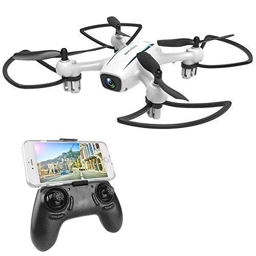 WINGLESCOUT Drone con Telecamera H816HW Mini Quadricottero Fotocamera Reale HD 7