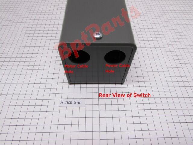 PN 11598117 Original Suppler for Bridgeport Fwd//Rev Switch W//Cover, No Cables