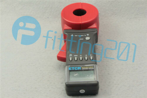 Digital Clamp On Ground Earth Resistance Tester Meter NEW 1PCS ETCR2100A