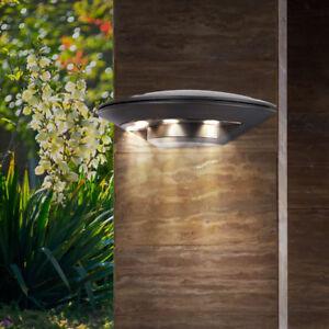 led au en wand beleuchtung balkon lampe alu veranda terrasse hof weg leuchte ebay. Black Bedroom Furniture Sets. Home Design Ideas