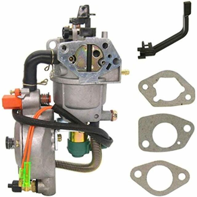 uxcell New Dual Fuel Carburetor LPG NG Conversion Kit for Gasoline ...