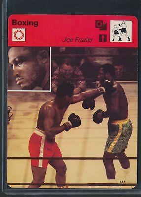 JOE FRAZIER 1977 FOCUS ON SPORTS CARD