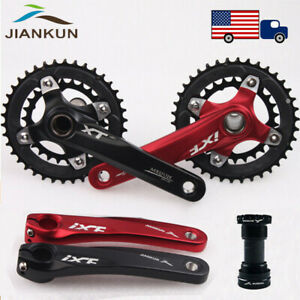 10-Speed-Double-Crankset-BB-104bcd-MTB-Bicycle-Sprocket-Crank-26-38T-Chainring