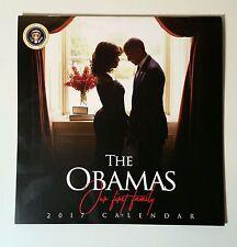 2017 President Barack Obama Commemorative Farewell Calendar w/ Daily Black Facts