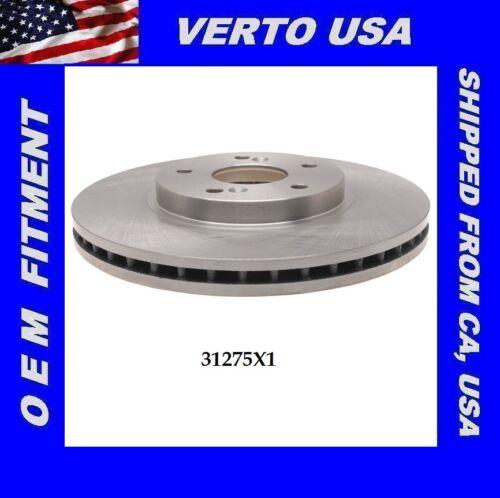Verto USA Disc Front Brake Rotor For Honda /& Acura Base On Fitment Chart