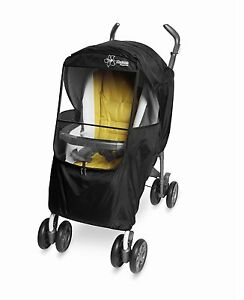 [Manito] Elegance Plus Stroller Weather Shield / Rain Cover (Black) [Manito USA]
