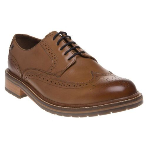 Shoes Sole Brogue Tan Badric New Leather Up Mens Lace w5xzq5FAX