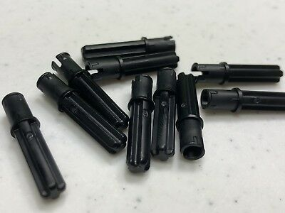 LEGO Black Technic Axle Pin 3L and 2L Axle Lot of 100 Parts Pieces 18651