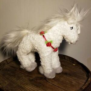 Ty Beanie Baby HOLLYHORSE - the Christmas Horse ( Mint Tag)