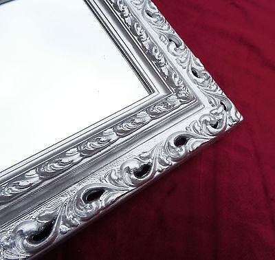 Wandspiegel 43x36 Spiegel BAROCK Rechteckig GOLD Bilderrahmen Arabesco 3