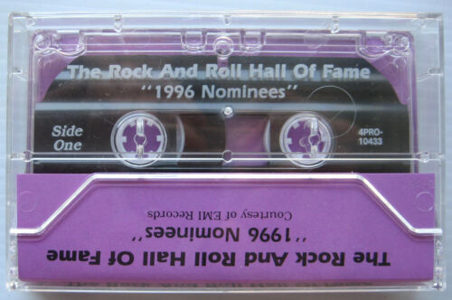 DAVID BOWIE PINK FLOYD VELVET 11th Hall of Fame 1996 Compilation Cassette!