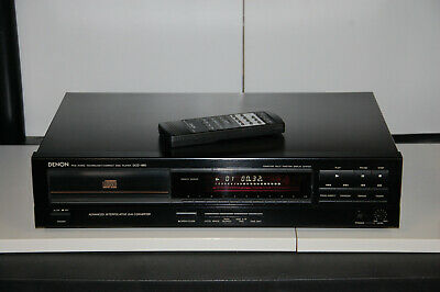 Begeistert Denon Dcd-680 Cd-player Mit Fernbedienung / Ca. 1988 Ein GefüHl Der Leichtigkeit Und Energie Erzeugen